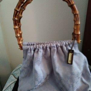 Gucci Bamboo Violet. Tote.  Shoulder bag